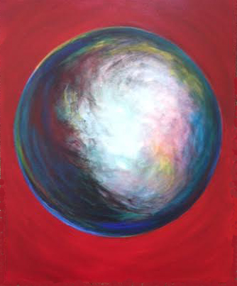 Air bubble in red, Bruckner 2017