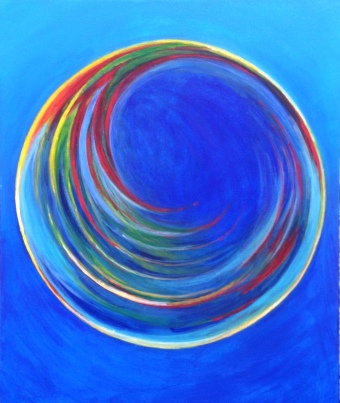 Air bubble spiral #2, Bruckner 2017
