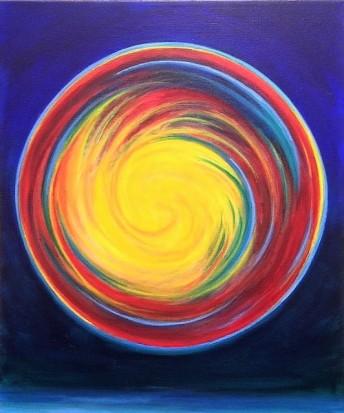 Air bubble spiral#1, Bruckner 2017