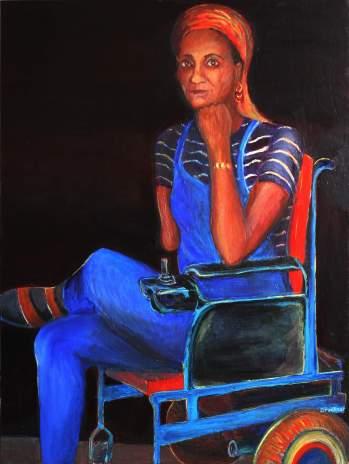 Celeste #2, acrylic 40 x 30, Bruckner c.2007
