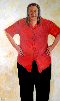 Jan, 60 x 36, acrylic, Bruckner 2001, 2004