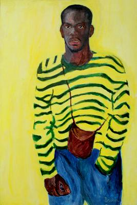 Leroy, 36 x 24, acrylic, Bruckner 1997