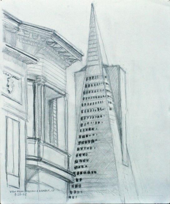 TransAmerica drawing #1 Bruckner 05