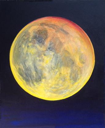 Air bubble, full Moon#2_ Bruckner 2016