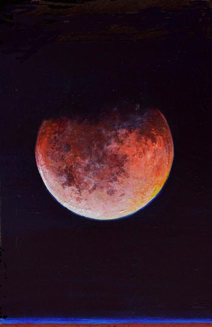 Lunar Eclipse #10 Bruckner 2014