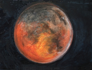 Lunar Eclipse #4 Bruckner 2014
