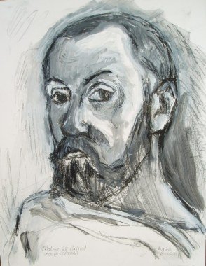 Matisse self-portrait (at SFMOMA) 2011