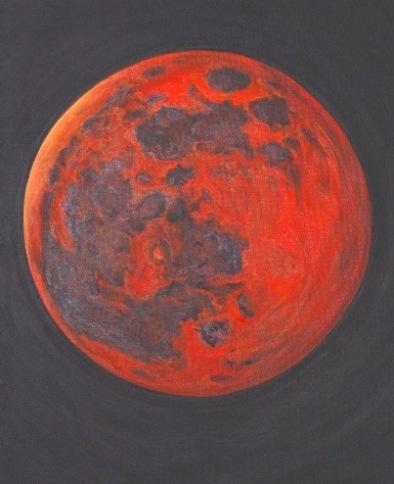 Red moon c.Bruckner 2019