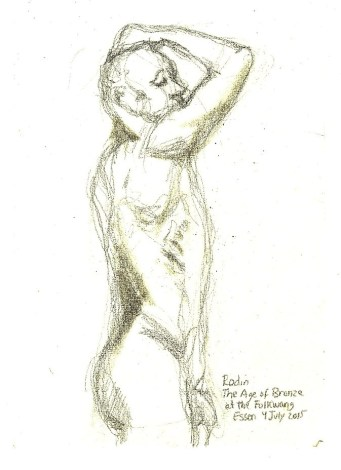 Rodin-Age of Bonze (in Essen) c.Bruckner2015