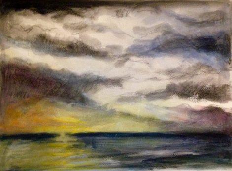 Sky & sea 17Mar2019