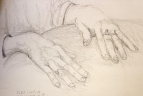 Vicki's hands #1