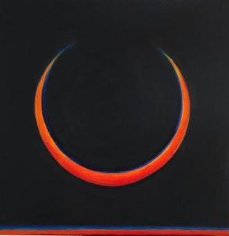 Solar eclipse #8 -acrylic Bruckner2019
